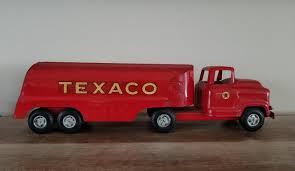 VINTAGE BUDDY L Texaco Oil Gas Tanker Truck Pressed Steel Toy ... Amazoncom Ertl 9385 1925 Kenworth Stake Truck Toys Games Texaco Cast Metal Red Tanker Truck By Ertl For Sale Antiquescom Vintage Toy Fuel Tractor Trailer 1854430236 Beyond The Infinity 1940 Ford Pickup With Lot Detail Two 2 Trucks Colctible Set Schrader Oil Vintage Buddy L Gas Pressed Steel Antique Tootsietoy 1915440621 Sold Diamond T 522 Livery Rhd Auctions 26 Andys Toybox Store 273350286110 1990 Edition 7 Stake Coin Bank Collectors Series 9 1961 Buddy