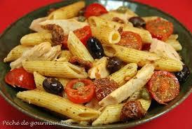 salade de pâtes au thon à la sicilienne péché de gourmandise
