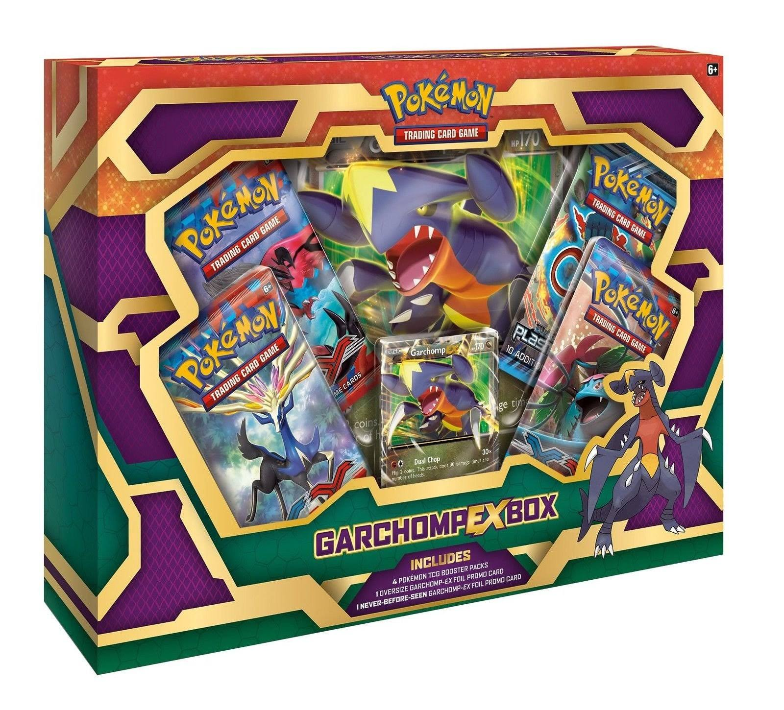 Pokemon Trading Card Game - Garchomp-EX Box