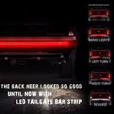 100 Running Lights For Trucks Light Tailgate Brake Light Strip Truck Tailgate Light Led Strip