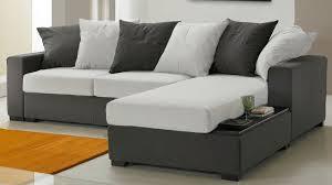 canapé gris et blanc pas cher coussin pour canape pas cher maison design bahbe com