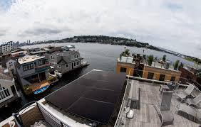 100 Houseboat Project Featured Lake Union AR Solar