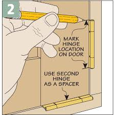 Installing Non Mortise Cabinet Hinges by Installing No Mortise Hinges Woodsmith Tips
