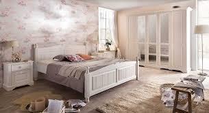 landhausstil schlafzimmer set pia massiv weiß pinie landhaus