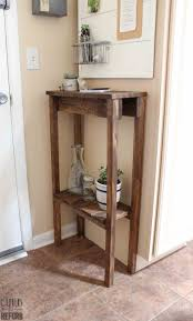 Pallet Wood Garbage Can Holder Out Of Wooden Furniture Small Things To Make