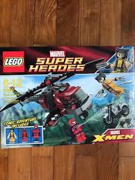 LEGO 6866 Marvel Super Heroes - Wolverine's Chopper Showdown, Toys ...