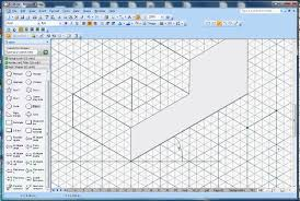 how to draw isometric shapes in microsoft visio youtube