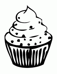 Cupcake coloring pages 5