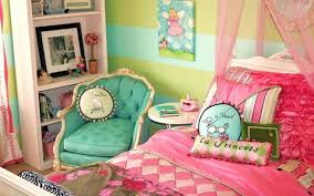 bedroom chic teen room with diy wall mural idea also low