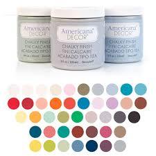 Americana Decor Chalky Finish Paint Colors by Pintura Chalky Comprar Chalky Finish Pintura Efecto Tiza