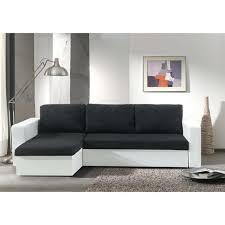 canapé noir et blanc convertible canape noir et blanc pas cher canapa sofa divan echo canapac