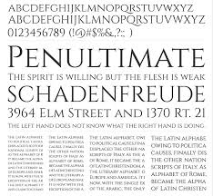 Fonte Cinzel Decorative Bold by Cinzel Decorative First Century Roman Typeface Bypeople