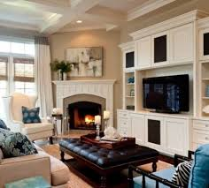 Living Room Corner Decoration Ideas by Living Room Corner Fireplace Decorating Ideas With Regard To