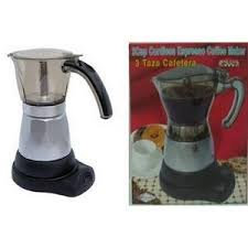 Electric Cuban Coffee Maker 1 To 3 Cups Courtesy Of Bene Casa