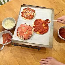 Make Your Own Mini Pizzas