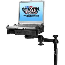 Ram No-Drill Laptop Mount... | Forestry Suppliers, Inc. Truck Gps And Mount Photos Articles Lenovo Adjustable Laptop Stand Stands Us Pro Desks Dominator Vehicle Laptop Of The Month Ram Nodrill Mounts Blog Open Box For Chevrolet Silverado 1500 Computer Rail Sliders Distributed By Rossbro Uplift View Shop Human Solution Mounting A In An Rv Or Auto For Dodge Trucks The Best Of 2018 Ramvb159sw1