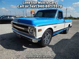 1970 Chevrolet C10 For Sale   ClassicCars.com   CC-1020442 2007 Chevrolet Silverado 2500hd Crew Cab Pickup Truck Item Lipscomb Auto Center Bowie Tx Buick Gmc Your Byford In Duncan Lawton Herb Easley Wichita Falls A Ok Graham Patterson An Henrietta And Trash Schedule For Changed Memorial Day Holiday Used Dealer Inventory Haskell New Gm Certified Pre 2018 Sierra 1500 For Salelease Stock 29161 Toyota Tundra Sale 5tfdw5f15jx686171 Truck Driving School In Tx Best Resource