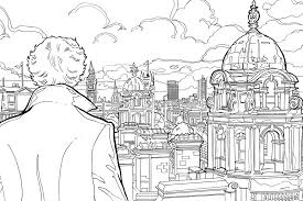 Free Sherlock Holmes Colouring Pages