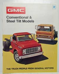 1972 GMC Trucks Conventional & Steel Tilt Models Sales Brochure