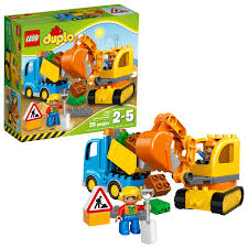 LEGO DUPLO Town Truck & Tracked Excavator 10812 - Walmart.com Trucks Lorries And Heavy Machines Made Of Lego Blocks Exhibition In Trial Nico71s Creations Semi 4 Steps Lego Juniors Road Repair Truck 10750 Big W Is The World Ready For A Food Set The Bold Italic Ideas Product Ideas 2015 Ford F150 Old Truck Moc Building Itructions Youtube Catch A Ride On Art Car At Burning Man By Airport Fire 60061 City Tow Classic Kenworth W900