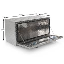 100 Aluminum Truck Tool Boxes Details About 36 Under Body Box Trailer RV Storage Box Under Bed
