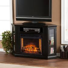 Decor Flame Infrared Electric Stove by Southern Enterprises Claremont Convertible Cherry Electric