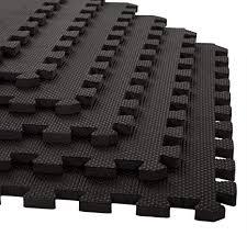 Stalwart Foam Mat Floor Tiles Interlocking EVA Padding Soft Flooring For Exercising Yoga