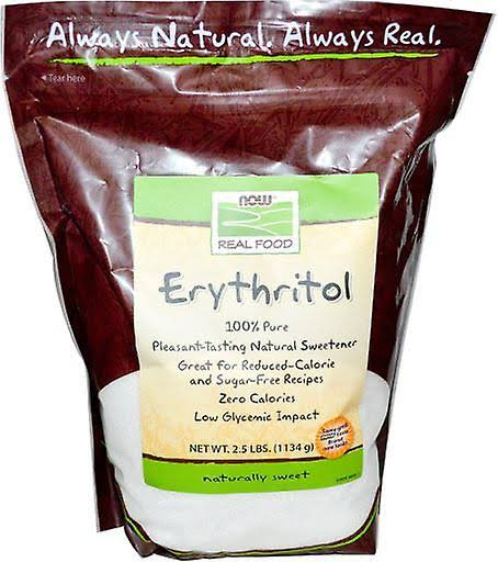 Now Foods Erythritol Powder - 100% Pure, 2.5lbs