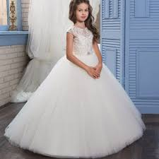 online get cheap girls graduation dresses white aliexpress com