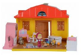 la maison du jouet ensemble de jeu maison de masha jouet masha et michka