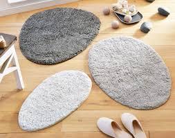 tapis de bain forme galet 1200 g m2 becquet