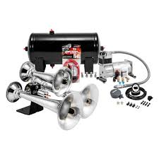 Kleinn® - Pro Blaster™ Train Air Horn Kits Philippines 4 Trumpet Vehicle Air Horn 12v24v Compressor Tubing Hornblasters Jackass 228v Kit Best Rated In Horns Helpful Customer Reviews Amazoncom Universal Fourtrumpet Air Train Horn For Cartruckboat Kleinn Pro Blaster Train Kits Hella Dual 24v Autoelec Warehouse Online Shop 12v Car Boat Truck 178db Tone Complete System With Compressor Tank And New Chrome W 150 Psi 3 Liter Malaysia Loud Easy To Fit Tech 12v Truck Youtube