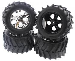 100 4x4 Truck Tires Amazoncom TRAXXAS 28 MAXX TIRES ALLSTAR CHROME WHEELS 12MM