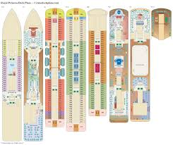 Disney Wonder Deck Plan by Royal Princess Deck Plans Diagrams Pictures Video