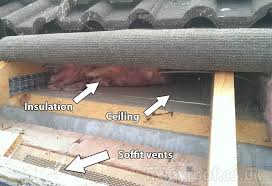 Insulating A Vaulted Ceiling Uk by Roof Vents Easy Solutions To Roof Ventilation