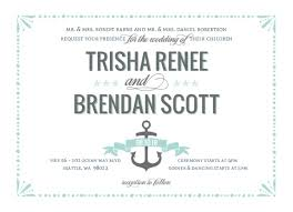 Mint Pastel Nautical Beach Wedding Invitation By WeddingPaperie