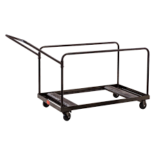 Folding Chair Carts Lifetime by Lifetime Chair Cart Gray Hayneedle