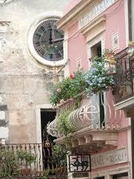 Pretty Pink Balcony Paris France