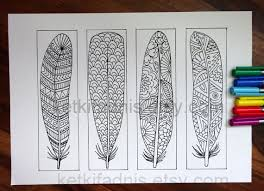 Coloring Bookmarks 12 To Print And Color Digital