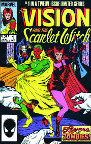 Amazon Avengers Vision The Scarlet Witch