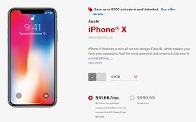Verizon iPhone Promotion Get Up to $300 f The iPhone X