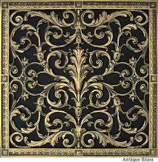decorative grille 20x20 louis xiv style decorative vent cover