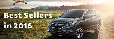 were the Best Selling Honda Vehicles in America 2016