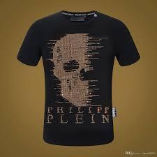 Großhandel 2018 Sommer Marke Designer T Shirt Knochen Brief T Shirt