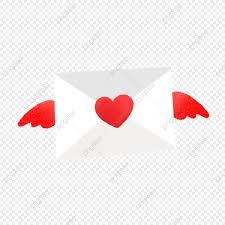 Mão Desenhada Linda Carta De Amor Giro Mão Desenhada