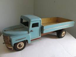 100 Unique Trucks 1950s Handmade Wooden Toy Truck Huge 27 Professional Look