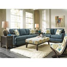 Teal Living Room Set by Rent To Own Benchcraft Brileigh Teal Sofa And Loveseat For Rent To