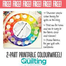 FREE Colourwheel Printable Download