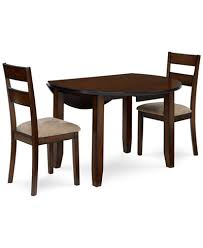 branton round 3 piece set table 2 chairs furniture macy s