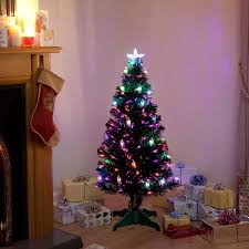 Small Fibre Optic Christmas Trees Sale by Victoriana Colour Changing Lantern Fibre Optic Christmas Tree
